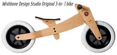 Wishbone Design Studio Original 3-in- 1 bike